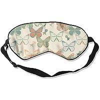 Eye Mask Eyeshade Colorful Butterflies Sleeping Mask Blindfold Eyepatch Adjustable Head Strap preisvergleich bei billige-tabletten.eu