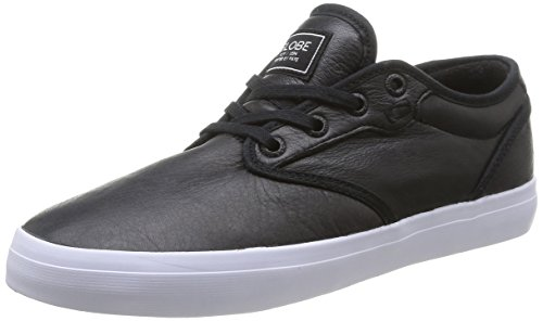 Globe Motley, Herren Skateboardschuhe Schwarz (10973 Black Fg)