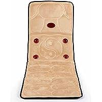 MEIDUO Neck Massager Massage Kissen Körper Massage Matratze Pad Neck Taille zurück (Farbe : Beige(Flannel)) preisvergleich bei billige-tabletten.eu