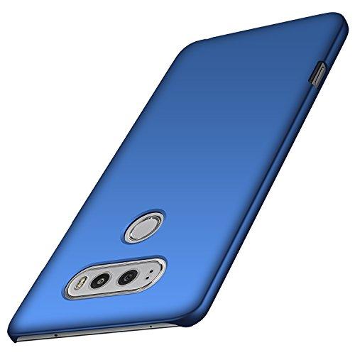 anccer LG V20 Hülle, [Serie Matte] Elastische Schockabsorption und Ultra Thin Design (Glattes Blau)