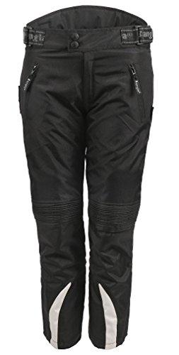 Bangla Kinder Motorradhose Textil 2152 Schwarz grau 128