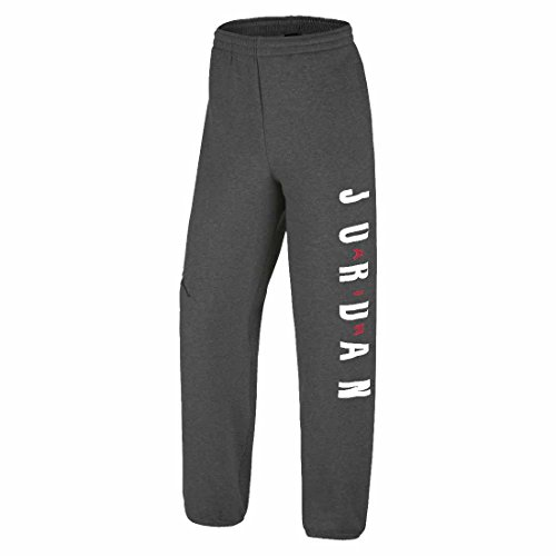 Little Boys Nike Air Jordan Fleece Sweat Pants, Jungen, Schwarz / Erika (Air Pant Fleece)