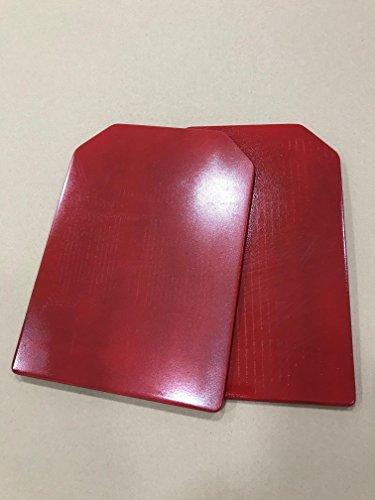 CROSSOWL Placas (2) DE Peso para Chaleco Entrenamiento (Rojo)