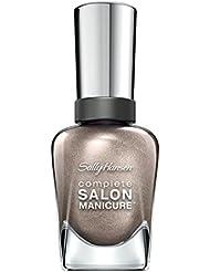 Sally Hansen Complete Salon Manicure Nagellack, 381 Gilty Party/pflegender, metallic hellbraun/Bronze, 15 g