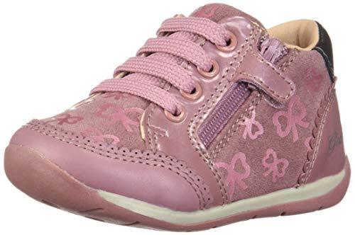 Geox Baby Mädchen B Each Girl C Sneaker, (Pink C8004), 24 EU