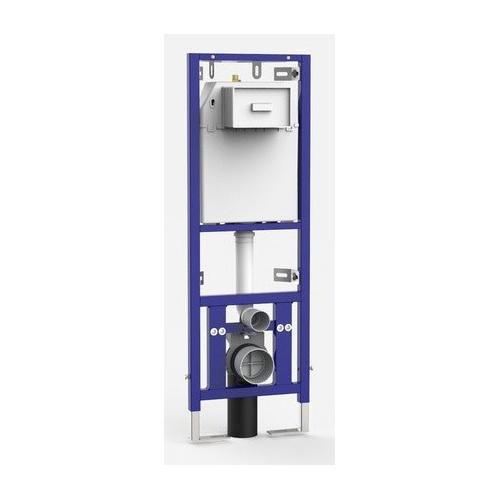 Sanit WC-Eckelement 995SC Betätigung vorn Bauhöhe 1120 mm Eck-Wandelement