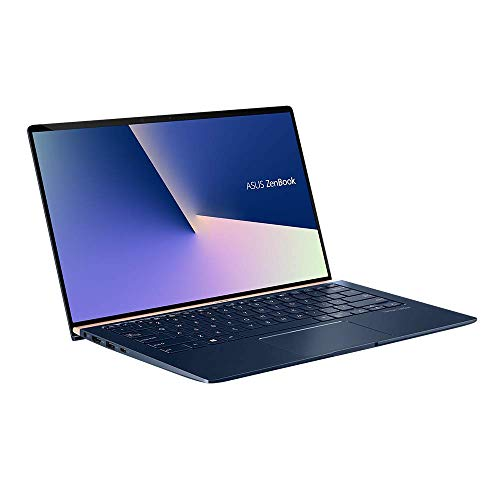 ASUS ZenBook 14 UX433FN (90NB0JQ2-M04820) 35,5 cm (14 Zoll, FHD, WV) Ultrabook (Intel Core i7-8565U, 16GB RAM, 512GB SSD, NVIDIA GeForce MX150 (2GB), Windows 10) Royal Blue
