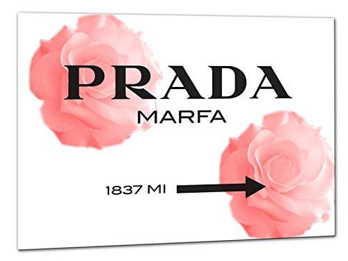 Kuader Prada Marfa Gossip Girl Rosen Prada Bild Druck Auf Leinwand Für Den Innenausbau Pro13, 150x105 cm