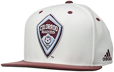 MLS Herren Team Logo zwei Ton Flach Krempe Snapback Hat,