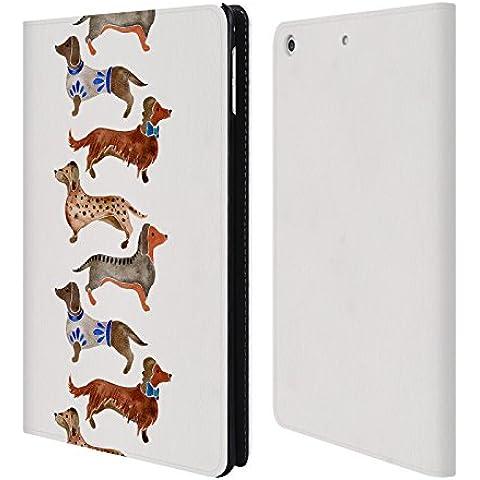 Ufficiale Cat Coquillette Bassotti Animali Cover a portafoglio in pelle per Apple iPad mini 4