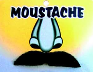 Accessoire deguisement - Postiches - Moustache noire (georges)
