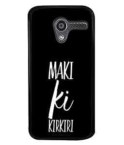 Fuson Designer Back Case Cover for Motorola Moto X Force :: Motorola Moto X Force Dual SIM (Black White Text Boy Man Youth Hyderabad )
