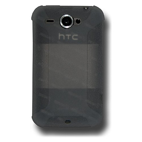 Amzer AMZ89105 Silicone Skin Jelly Case for HTC Wildfire (Grey)  available at amazon for Rs.224