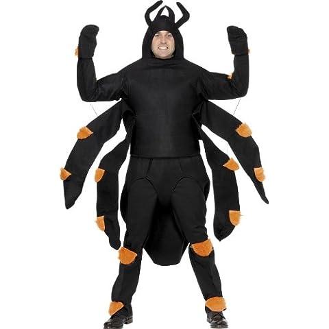Black & Orange Bug Spider Tarantula Costume Adult Standard