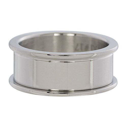 iXXXi BASISRING silber - 10 mm Größe Ringgröße 19 (Platz Wechseln)