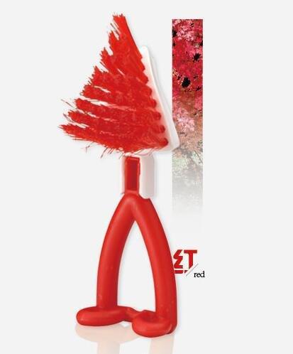 MEICHEN Punta della testa pelliccia plastica casa cucina pulizia spazzola la pittura gratuito fatta eccezione per la pittura il pennello di cucina , red