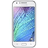"Samsung Galaxy J1 - Smartphone de 4.3"" (WiFi, Spreadtrum Dual-core 1.2 GHz, 512 MB de RAM, cámara de 5 MP, micro SD, Android) color blanco [modelo español]"