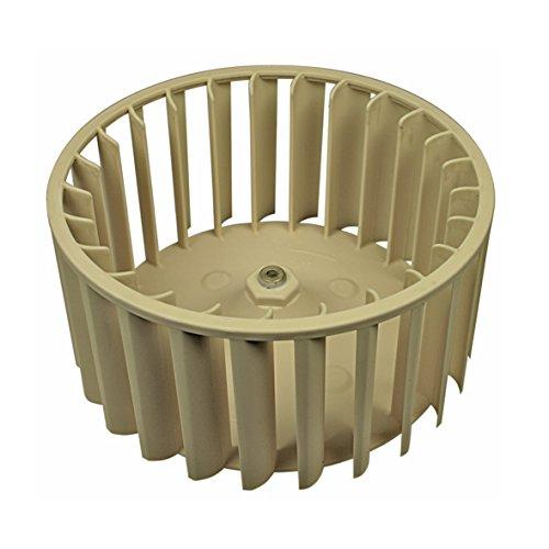 ORIGINAL Miele 4240974 Lüfterrad Lüfterwalze Gebläserad Prozessluft Umluft Gebläseflügel Kühlrad Kunststoff Wäschetrockner Trockner Trocknerautomat (Trockner-gebläse-rad)