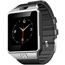 LaTEC Smart watch Bluetooth schermo touch di 1.56 pollici ,Smartwatch da polso con supporto SIM (Lg Gsm Telefono Cellulare)