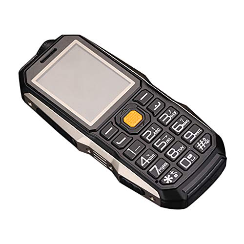 Altsommer Stoßfest Senioren handys mit Große Stimme,Dual-SIM,Großen Tasten,Bluetooth, Taschenlampe,FM Radio,Lange Standby-Zeit Mobiltelefon,Multi Sprachen, GPRS Seniorenhandy (Schwarz)