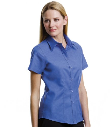 Kustom Kit Women's Workwear Oxford Short Sleeve Shirt