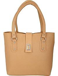 Magnetic Snap Lock Hand Leather Bag & Wallet Combo For Women & College Girls Hand Bag/Shoulder Bag/Leather Bag...