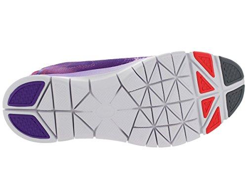 Nike Wmn Free 5.0 Tr Fit 4 Prt, Baskets mode femme Violet (violet/blanc)