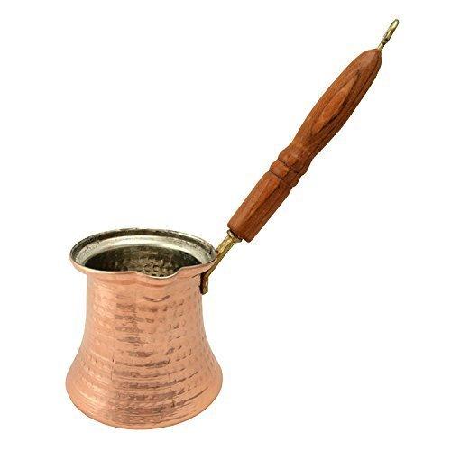 Dzhesva aus Kupfer 300 ml / Mokkakanne Topkapi Mokkakännchen Cezve
