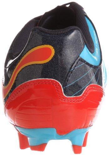 Puma  PowerCat 3.12 Gravity FG, chaussures de sport - football homme Bleu - Blau (fluo blue-new navy-orange 01)