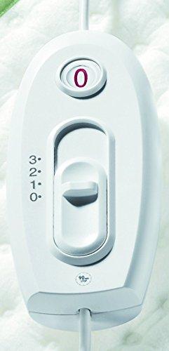 Beurer Basic 1 Almohadilla eléctrica  100 W  44 cm x 33 cm  color blanco