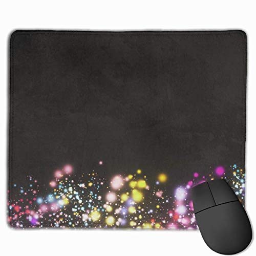 Deglogse Gaming-Mauspad-Matte, Smooth Mouse Pad Christmas Spots Mobile Gaming Mousepad Work Mouse Pad Office Pad