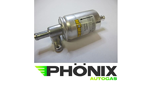 Phoenix Car Gas Filter 12 Mm 12 Mm With Bosch Adapter Connector Mapsensor Lpg Gas Filter For Kme Stag Etc Auto