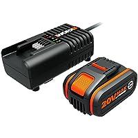Worx WA3604-20V POWERSHARE: Bat(4Ah)+Cargador1h