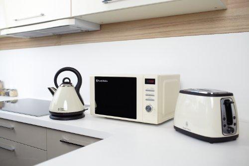 Russell Hobbs RHM2064C Heritage Digital Microwave, 20 Litre – Cream