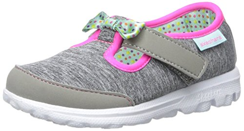Skechers Go Walk Bitty Bow, Chaussures Multisport Outdoor Fille