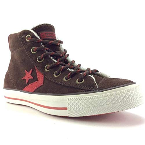 Converse Star Player Shearling Mid Braun / 125513 Farbe: Chocolate Brown