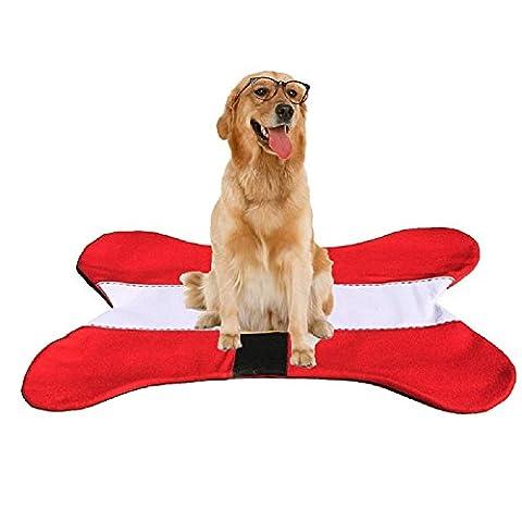 XJoel Noël Os Mat Pet Dog Bone Dog Pet Mat