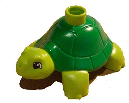 Lego Duplo Schildkröte limette + grün / lime + green Turtle
