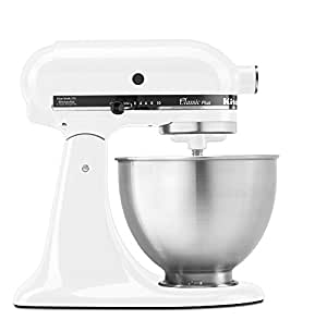 KitchenAid KSM75WH - Whisk Blender, White, 3.78 L, Rotary