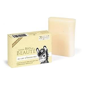 Savon Lait D'Anesse - Savon Bio De Beauté Sans Parfum - 100 Gr