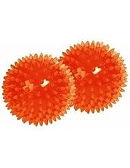 Togu Noppenball 2-er Set , Orange, 6 cm