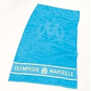 drap de sport serviette de bain collection officielle om football olympique de marseille. Black Bedroom Furniture Sets. Home Design Ideas