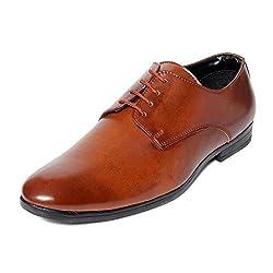 Bacca Bucci Men Tan PU Formal Shoes