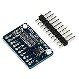 GETIT72 16 Bit 16 Byte 4-Kanal I2C IIC Analog-zu-Digital ADC PGA Konverter mit High Precision Pro Gain Verstärker für Arduino Raspberry Pi