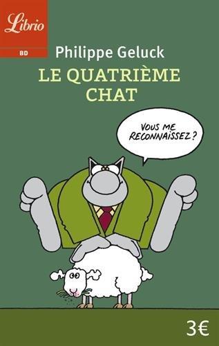 Le quatrième chat (Librio BD) por Philippe Geluck
