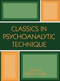 classics in psychoanalytic technique ebook robert j. Black Bedroom Furniture Sets. Home Design Ideas
