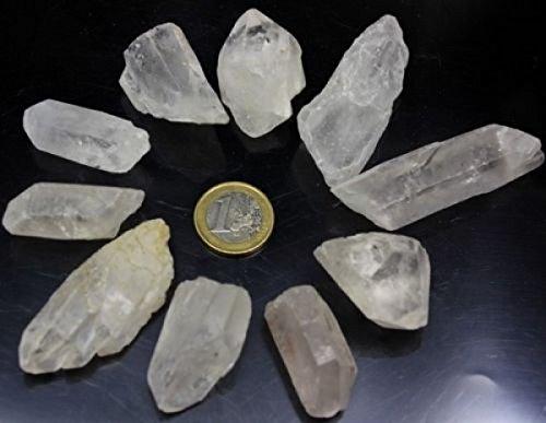 Bergkristall Spitzen 300 gr. Wassersteine Steinewasser Grundpreis 1 kg = 16,50 €
