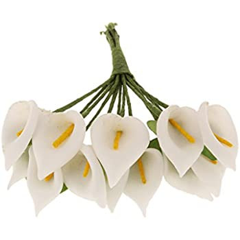 Amazon.de: TININNA 10 Stück Künstliche Blume Realistische Blumen ...