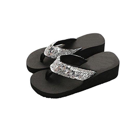 ccbba4bb5 ZARLLE Chanclas Mujer Sandalias Antideslizantes De Verano Chanclas Zapatos  De Playa Calzado.