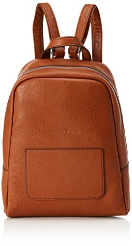 Tom Tailor Denim Damen Ivy Rucksackhandtasche, Braun (Cognac), 6x29x24 cm